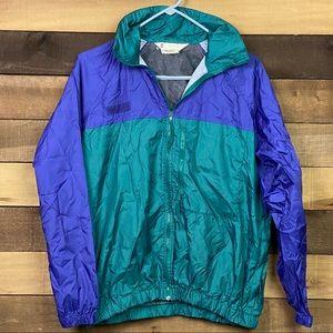 Columbia Women's 90s Vintage Y2K Rainjacket